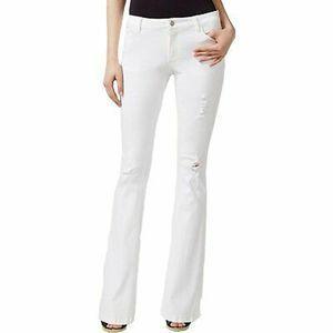 Nanette Lepore Canal Flare White Jeans 10/30 NWT